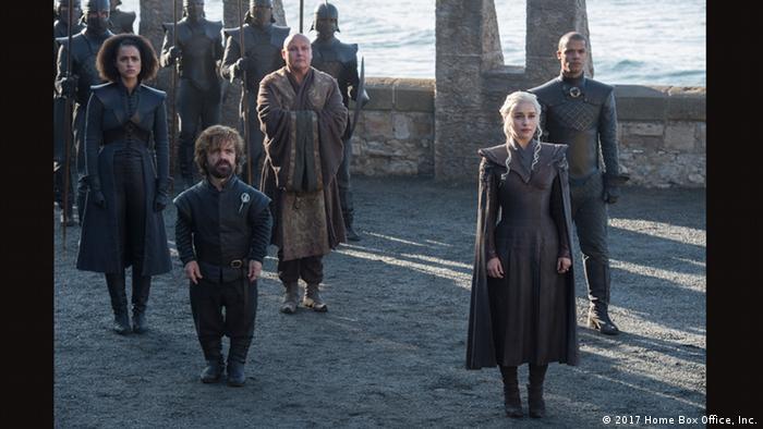Sky TV-Serie Game of Thrones 7. Staffel (2017 Home Box Office, Inc.)