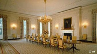 Weisses Haus White House Washington State Dining Room