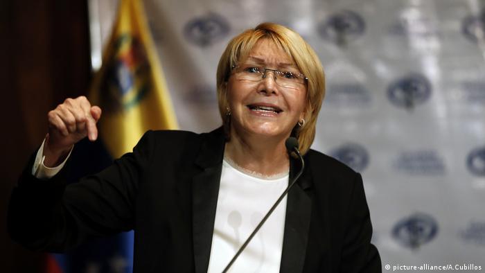 Venezuela, Staatasanwaltin Luisa Ortega (picture-alliance/A.Cubillos)