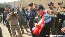 Irank, Mosul, Haider al-Abadi