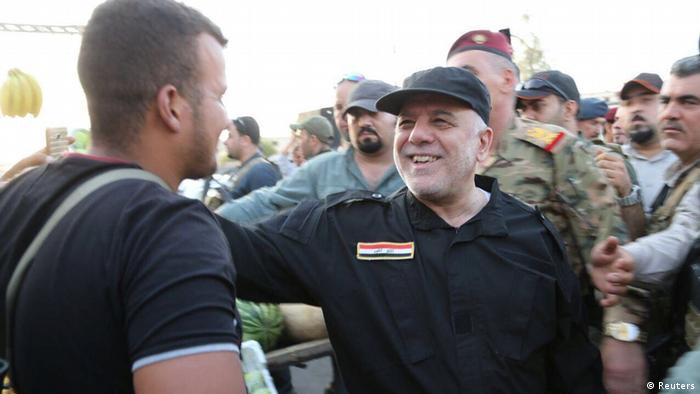 Der irakische Ministerpräsident Haider al-Abadi