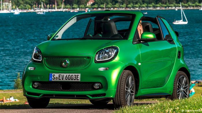 Smart Fortwo Cabriolet ED 2017 (Daimler AG)