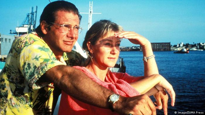 Filmstil Mosquito Coast mit Harrison Ford und Helen Mirren (Foto: Imago/ZUMA Press)