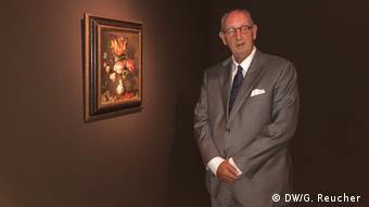Peter van den Brink with Flowers in a Wan-Li Vase by Balthasar von der Ast in the Suermondt-Ludwig-Museum in Aachen