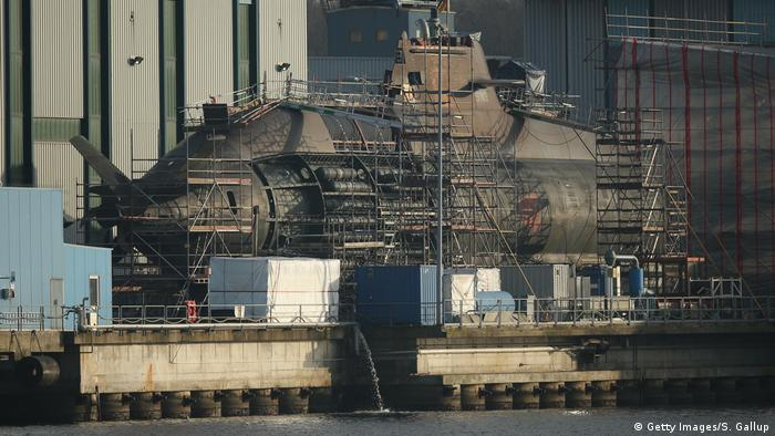 Submarine production in Germany