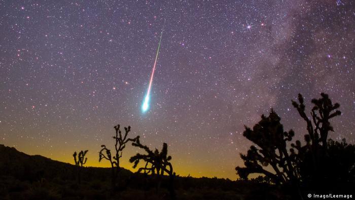 Падающий метеор