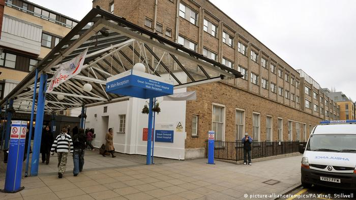 Great Ormond Street Hospital für Kinder in London (picture-alliance/empics/PA Wire/J. Stillwell)