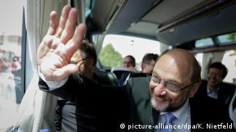 Ο υποψήφιος καγκελάριος του SPD Μάρτιν Σουλτς στην περιοδεία του στη Βαυαρία