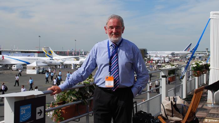 David Baker, britischer Raumfahrthistoriker