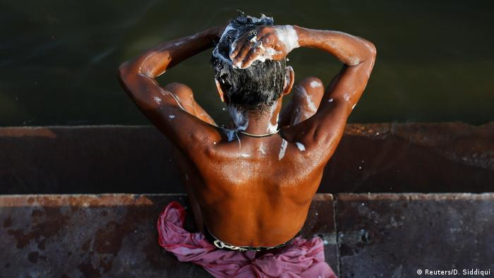 Indien Fluss Ganges (Reuters/D. Siddiqui)