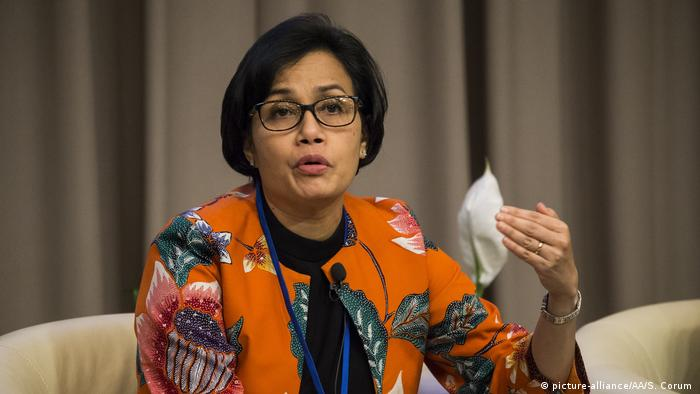 Sri Mulyani (picture-alliance/AA/S. Corum )