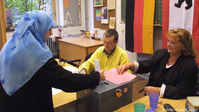 German muslims voting