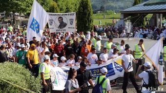 Πορεία ειρήνης για τα θύματα της Σρεμπρένιτσα το καλοκαίρι του 2017
