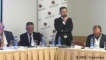 Владимир Чупров на конференции в Сколково