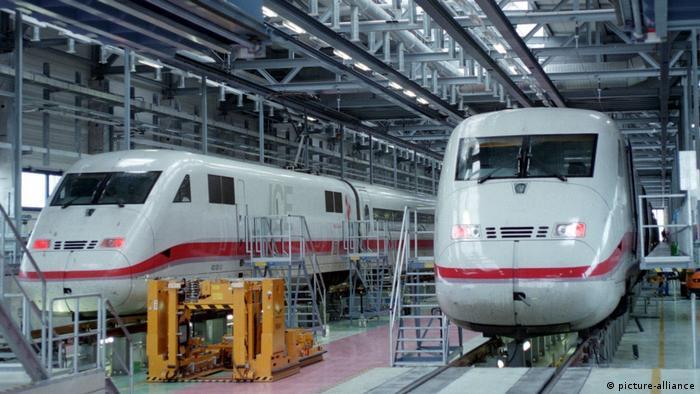 Германии не хватает железнодорожников