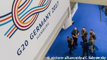 G20-Gipfel - Medienzentrum für Journalisten (picture-alliance/dpa/C.Sabrowsky)