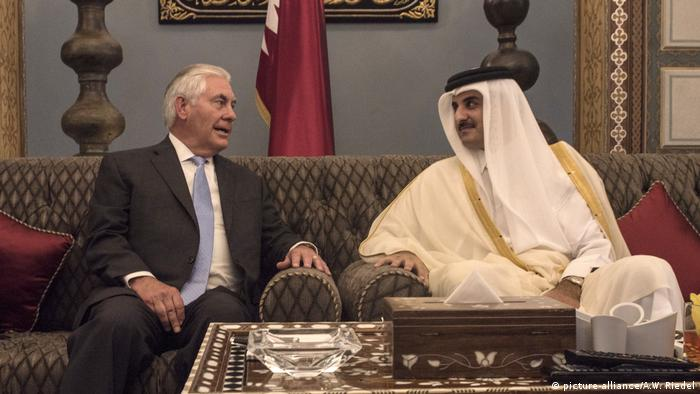 Rex Tillerson in Katar (picture-alliance/A.W. Riedel)