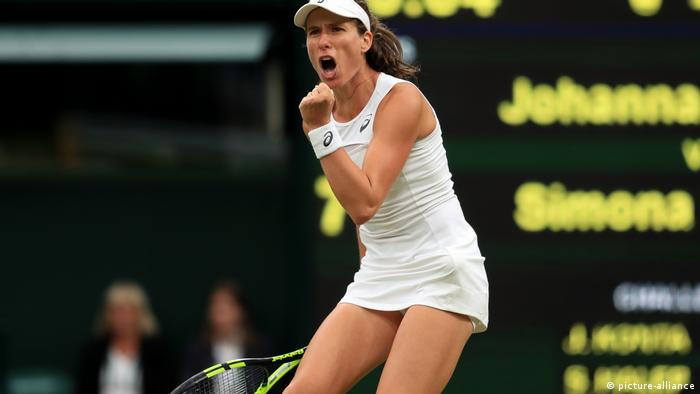 Wimbledon 2017, Johanna Konta (picture-alliance)