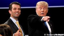 USA Präsident Trump und sein Sohn Donald Jr.