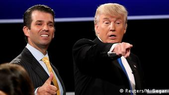 Donald Trump z synem