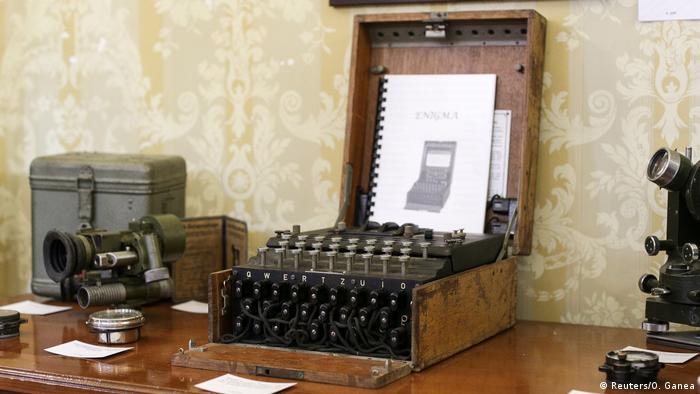 Rumänien Enigma-Maschine in Auktionshaus