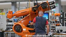 中资进入德国收购最高的年份2016年德国机器人制造商Kuka被中企美的收购