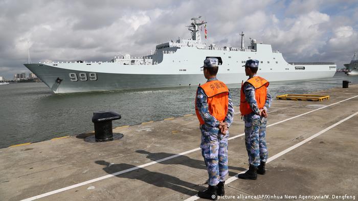 China Djibouti Militärbasis (picture alliance/AP/Xinhua News Agencyvia/W. Dengfeng)