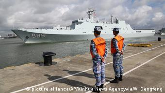 China Djibouti military base (picture alliance/AP/Xinhua News Agencyvia/W. Dengfeng)