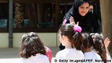 Saudi Arabien - Schülerinnen - Symbolbild (Getty Images/AFP/F. Nureldine)