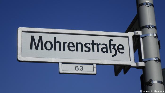 Mohrenstrasse street sign