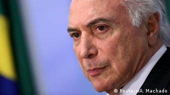 Brasilien - Temers Reaktion auf den Senat (Reuters/A. Machado)