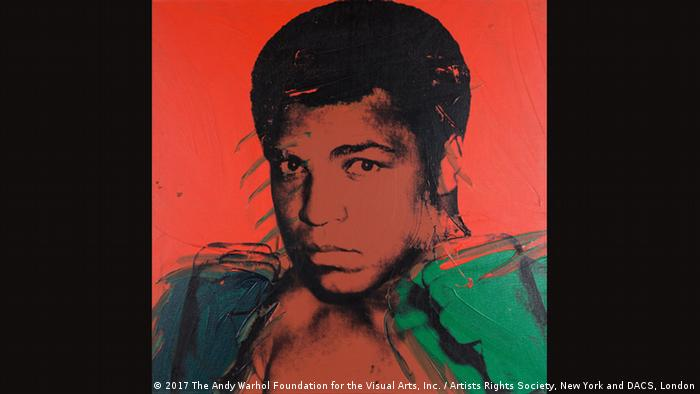 Andy Warhol, Muhammad Ali, 1978 (2017 The Andy Warhol Foundation for the Visual Arts, Inc. / Artists Rights Society, New York and DACS, London)