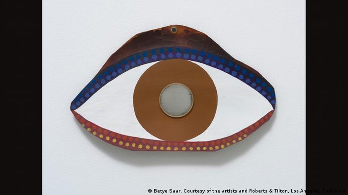 Betye Saar, Eye, 1972 (Betye Saar. Courtesy of the artists and Roberts & Tilton, Los Angeles, California)