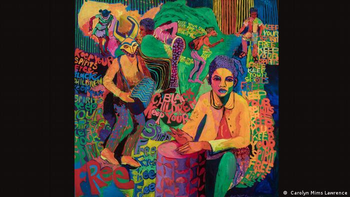 Carolyn Lawrence, Black Children Keep Your Spirits Free, 1972