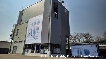 Опытно-промышленная PtL-установка компании Sunfire в Дрездене