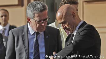 Thomas de Maiziere and Marco Minniti
