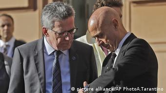 Τόμας ντε Μεζιέρ (αριστερά) και Μάρκο Mινίτι