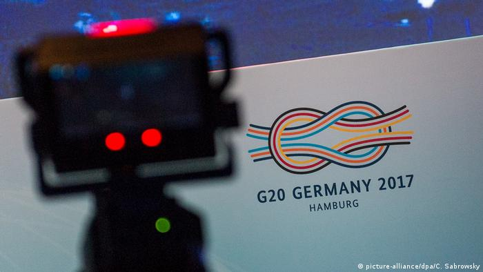G20-Gipfel - Medienzentrum für Journalisten (picture-alliance/dpa/C. Sabrowsky)