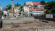 28.06.2017 ++ Cais do Valongo, Rios alter Sklavenhafen, Weltkulturerbe der Unesco. Die Bilder sind vom brasilianischen Kulturministerium und stehen der Presse im Allgemein zur Verfügung. (c) Oscar Liberal/Iphan