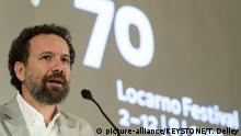 Carlo Chatrian, Artistic Director Locarno Festival, presents the program of the 70th Locarno International Film Festival during a press conference, at the Bellevue Palace in Bern, Switzerland, Wednesday, July 12, 2017. The festival runs from 2 to 18 August 2017. |