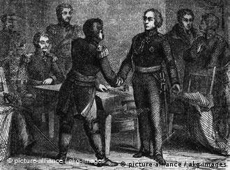Подписание Таурогенской конвенции 30 декабря 1812 года