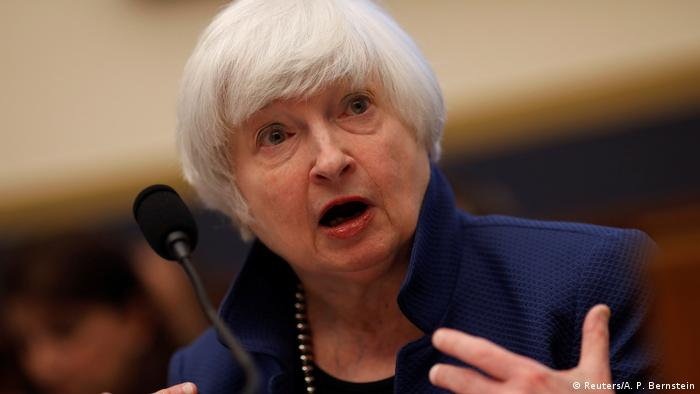 Janet Yellen es la primera mujer nombrada secretaria del Tesoro en EE.UU. | El Mundo | DW | 26.01.2021