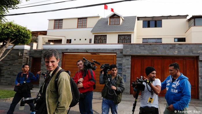 Peru Prozess gegen Ollanta Humala und seine Frau (Reuters/M. Bazo)