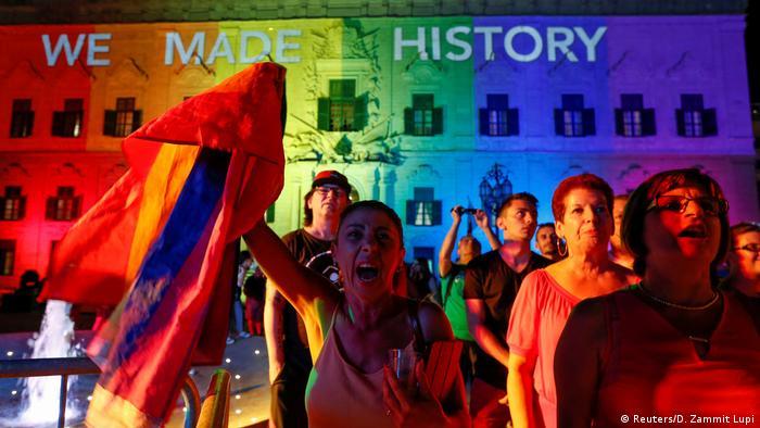 Malta beschließt Einführung der Homo-Ehe (Reuters/D. Zammit Lupi)