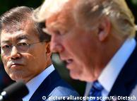 Мун Чже Ін та Дональд Трамп під час зустрічі у Вашингтоні, червень 2017 року
