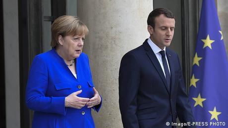 Επενδύσεις από τη Γερμανία ζητά ο Εμ. Μακρόν