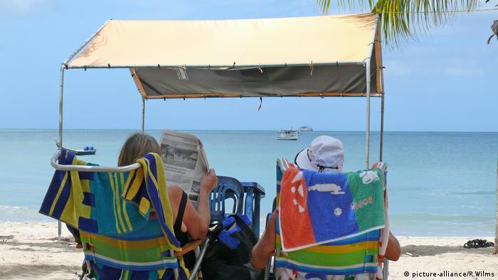 Turisti u Venezueli na plaži