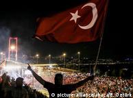 Ночь путча в Стамбуле (фото из архива)