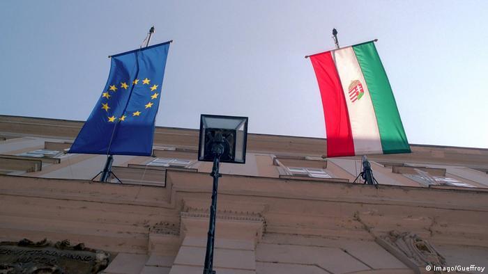 Symbolbild EU & Ungarn