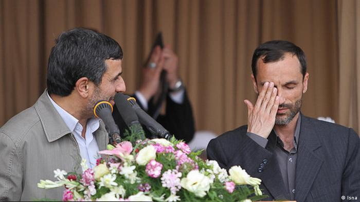 Iran Hamid Baghai Berater Ahmadinedschads (Isna)